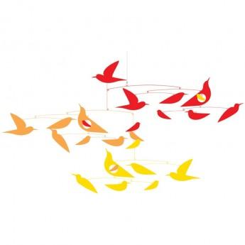 Ptaki mobile dekoracyjna zawieszka Frida, Djeco