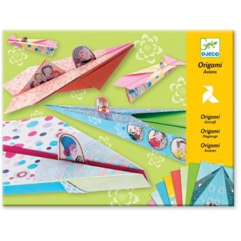 Origami Samoloty dla dziewczyn, Djeco