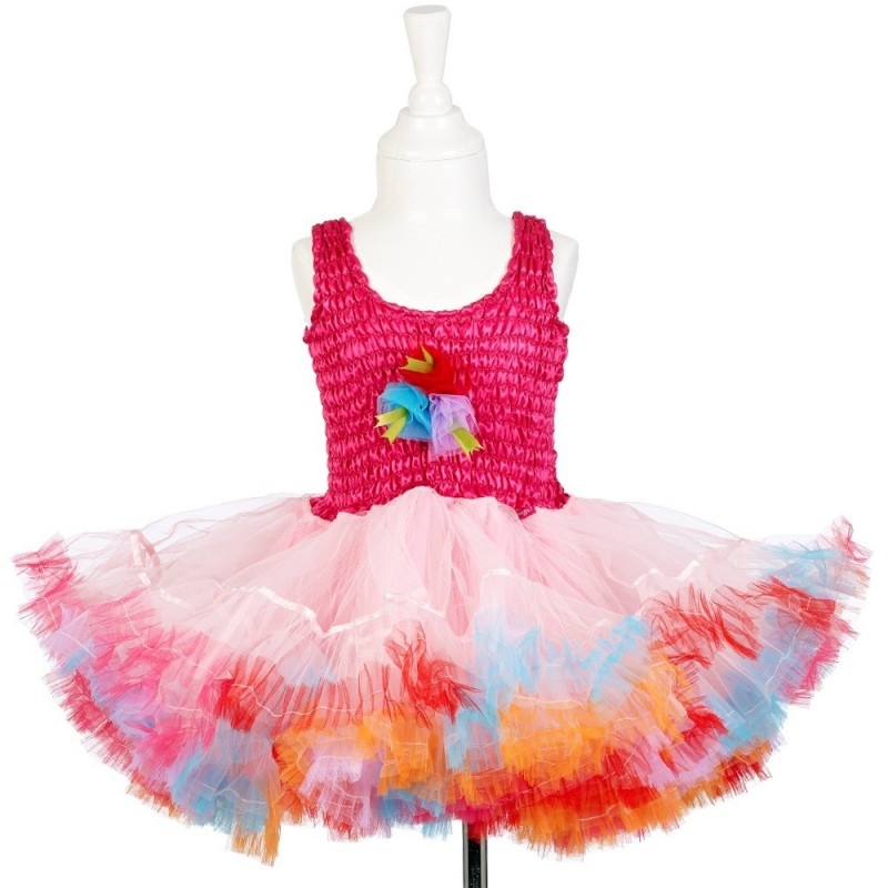 Sukienka tiulowa dla dziewczynki 3-4 lata fuksja Katia, Souza!