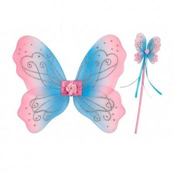 Adrienne skrzydła 30cm i różdżka, Souza For Kids