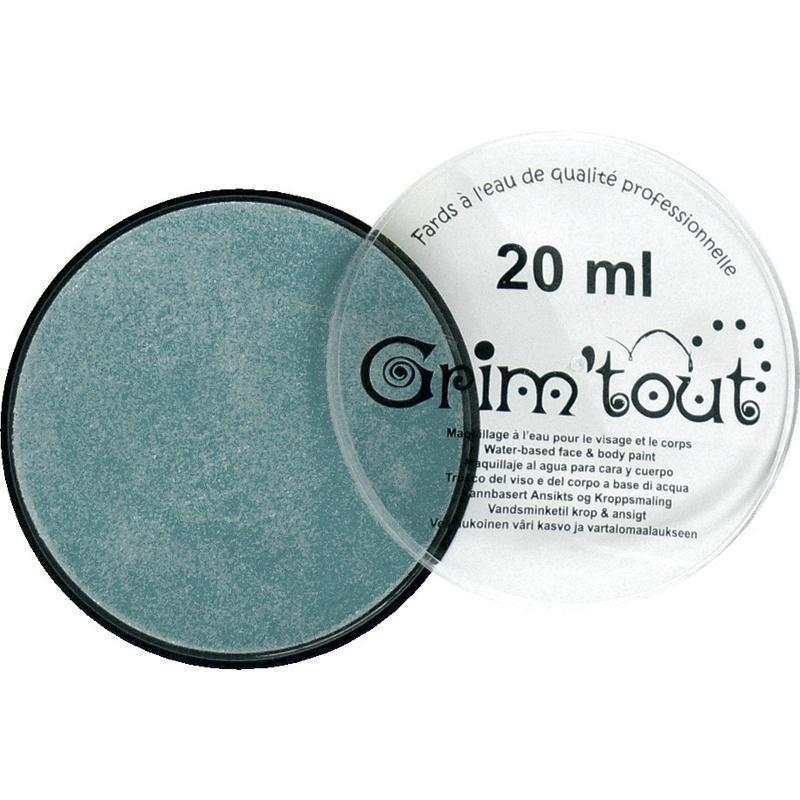 Farba Niebieska Perłowa 20ml do malowania twarzy i ciała, Grim'Tout