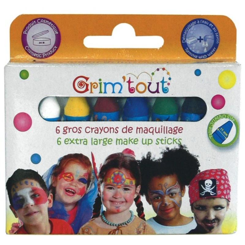 Grube kredki do malowania twarzy, Grim'tout