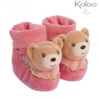 Buciki niechodki dla niemowląt Miś Bliss, Kaloo