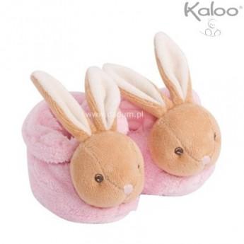 Buciki dla niemowląt różowe Plume, Kaloo