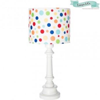 Lampa stojąca Kropki walec, Lamps & Co.