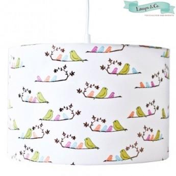 Lampa wisząca Ptaszki kolorowa, Lamps & Co.