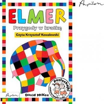 Posłuchajki. Elmer. Przygody w kratkę - David McKee, Wyd. Papilon