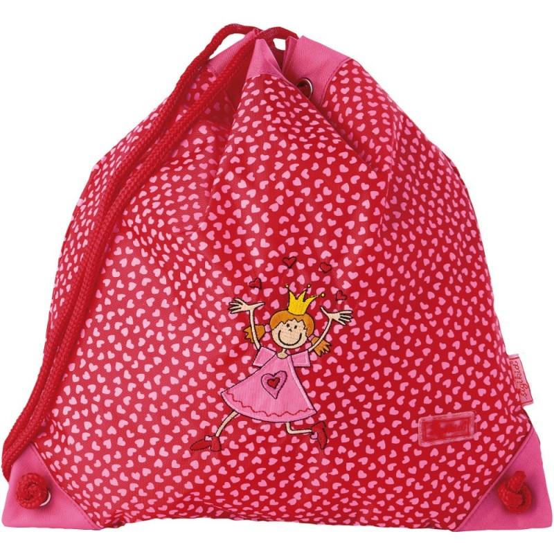 Worek gimnastyczny dla dzieci Księżniczka Pinky Queeny, Sigikid