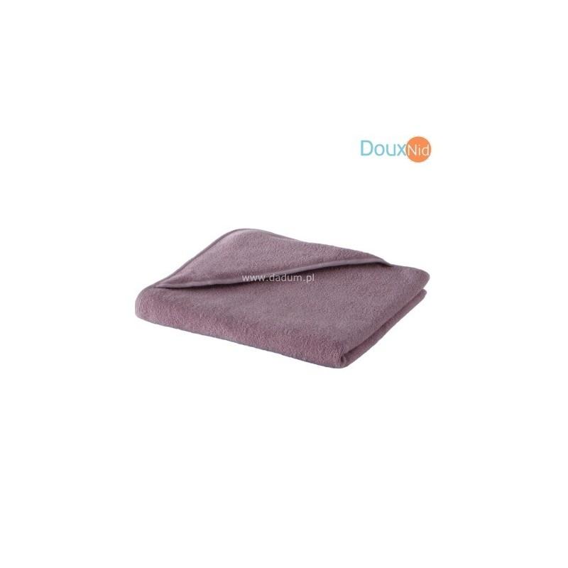 Ręcznik z kapturkiem 75x75cm Lea liliowy, Doux Nid