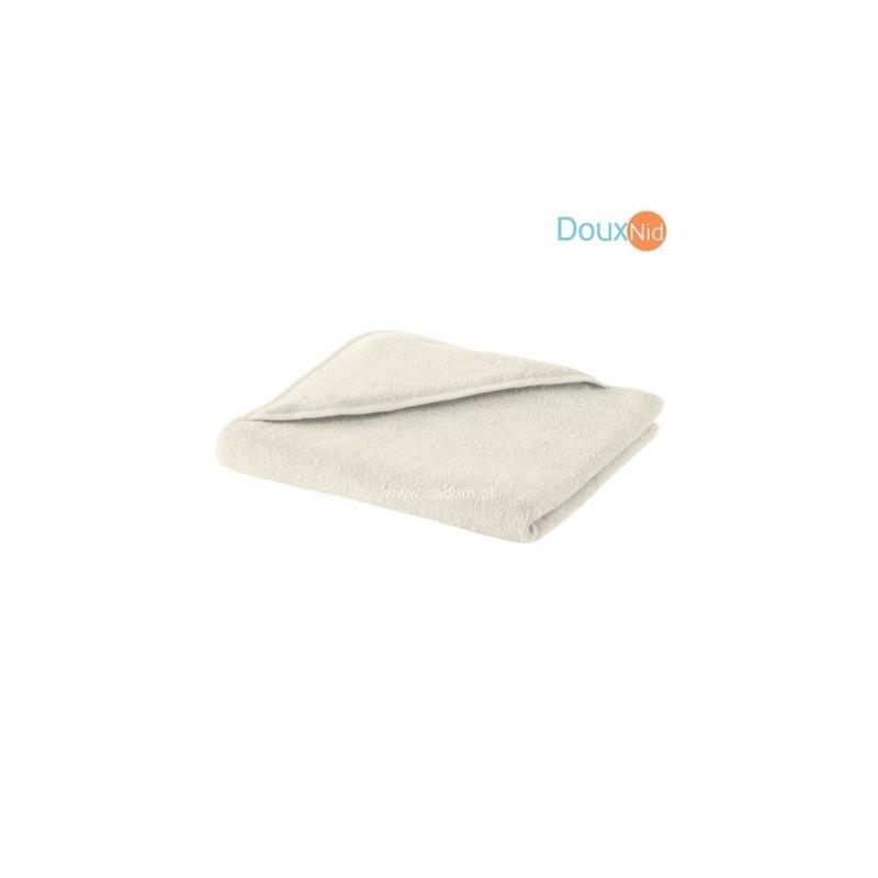 Ręcznik z kapturkiem 75x75cm Lea ecru, Doux Nid