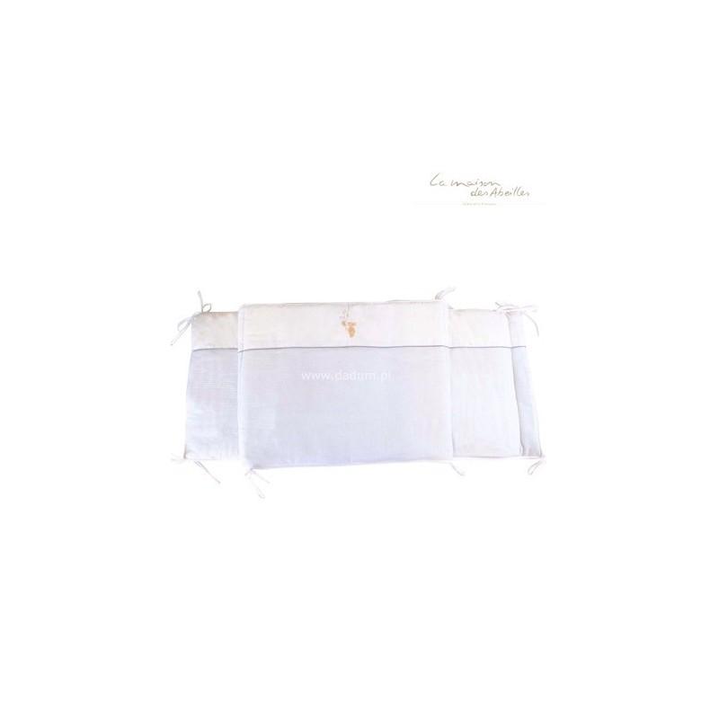 Ochraniacz do łóżeczka 50x180cm Królik błękitny, Poyet Motte