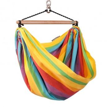 Fotel hamakowy dla dzieci Iri Rainbow, La Siesta