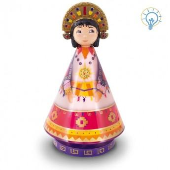 Lampa nocna dla dzieci Księżniczka Inca, L'Oiseau Bateau