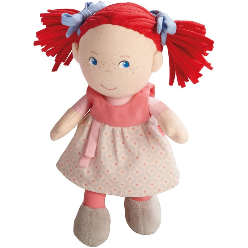Lalka szmaciana Mirli dla niemowląt od 6mc, Haba