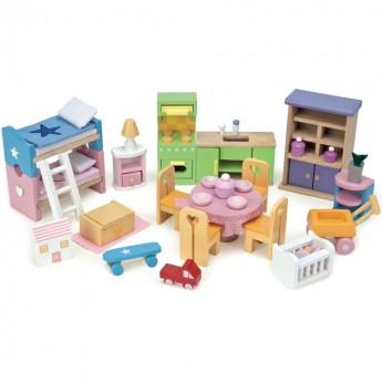 Mebelki do domków dla lalek, Le Toy Van