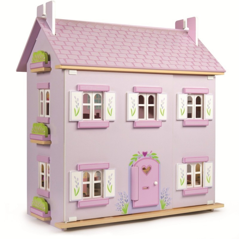 Lavender House domek drewniany dla lalek, Le Toy Van