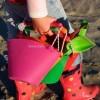 Wiaderko pomarańczowe Scrunch-Bucket, Funkit World