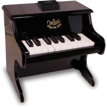 Vilac pianino czarne drewniane dla dzieci, z nutami