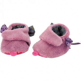 Buciki dziecięce różowe w pudełku, Moulin Roty
