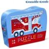 Straż Pożarna puzzle 12 elementów w pudełku, Crocodile Creek
