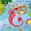 Syreny puzzle 72 elementów w pudełku, Crocodile Creek