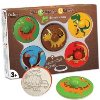 Stempelki gigantyczne Dinozaury, Crea Lign'