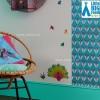 Ozdobny pas tapety Salome, My Little BIG Room by Djeco