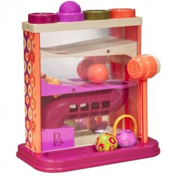 Whacky Ball przebijanka i kulodrom 2w1, B.Toys