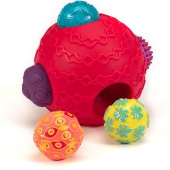 Ballyhoo kula sensoryczna z piłkami, B.Toys
