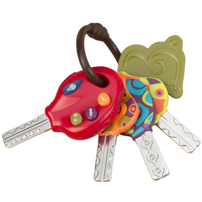 B.Toys LucKeys kluczy samochodowe zabawka interaktywna