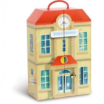 Szkoła dla lalek w walizce, Vilac
