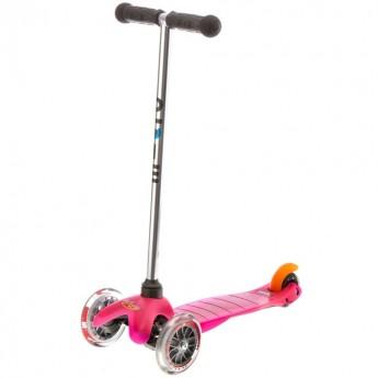 MINI Micro hulajnoga trójkołowa różowa dla 2 latki