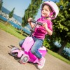 Mini2go różowy 2w1 jeździk i hulajnoga z siedziskiem -na roczek