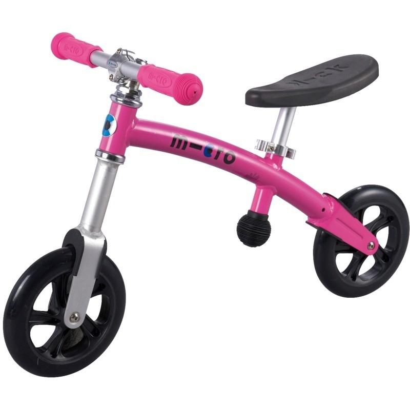 G-Bike Light rowerek biegowy różowy, Micro Mobility