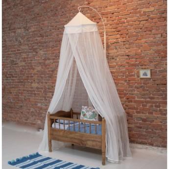 Moskitiera baldachim do łóżeczka Miguelito Antique white, Babylonia