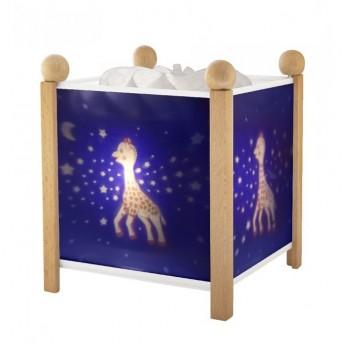 Magiczny lampion Żyrafa Sophie dla niemowląt, Trousselier