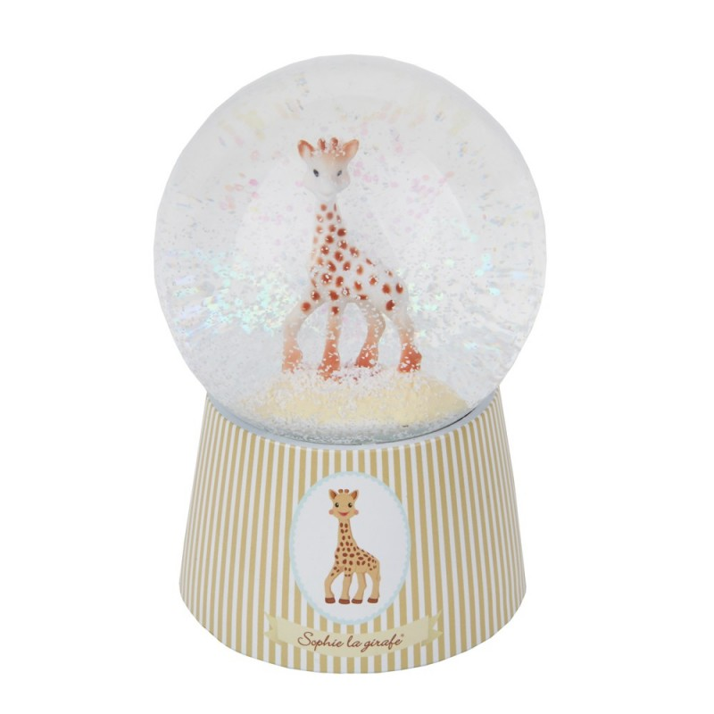 Kula śnieżna Żyrafa Sophie z pozytywką, niełamliwa, Trousselier
