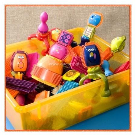 B.Toys Klocki jeżyki Spinaroos 75 sztuk dla dzieci +2