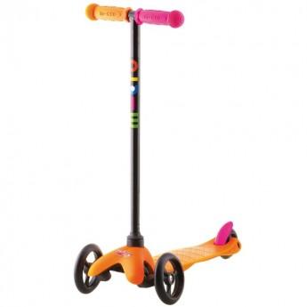 MINI Micro Sporty hulajnoga trójkołowa pomarańczowa dla dwulatki