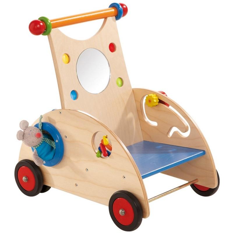 Wózek edukacyjny do nauki chodzenia, Haba