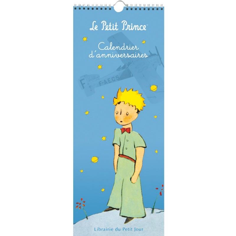Kalendarz dla dzieci uniwersalny ścienny Mały Książę, Petit Jour