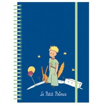Notes na spirali i gumkę Mały Książę, 44 strony w linie, Petit Jour