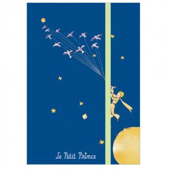 Notes na gumkę Mały Książę, 144 strony w linie, Petit Jour