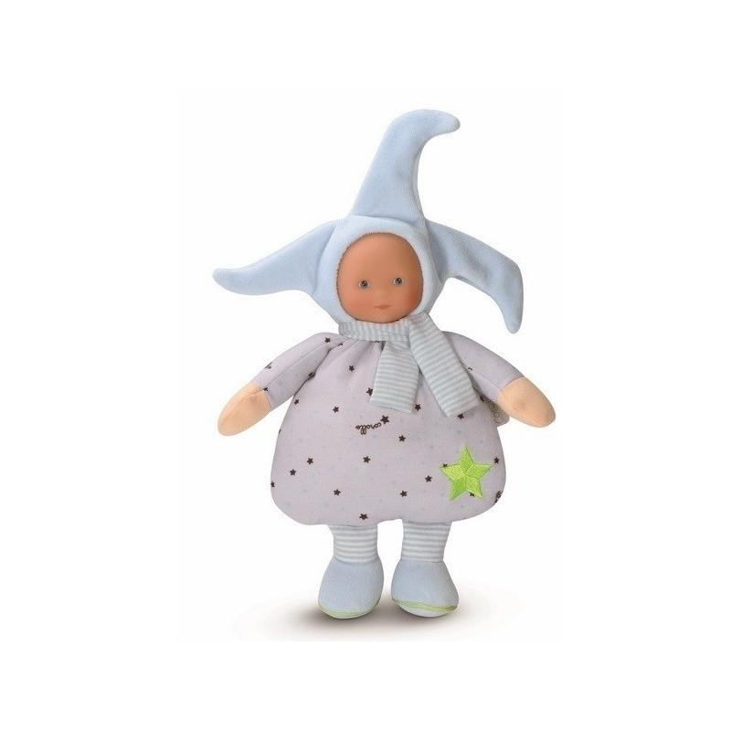 Corolle lalka szmaciana dla niemowląt Elf Blue Stars
