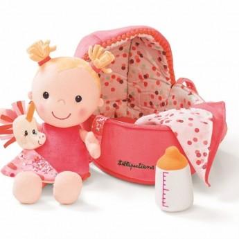 Szmacianka w nosidełku Baby Louise, Lilliputiens