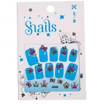 Naklejki na paznokcie Snails Perfect Princess, Snails
