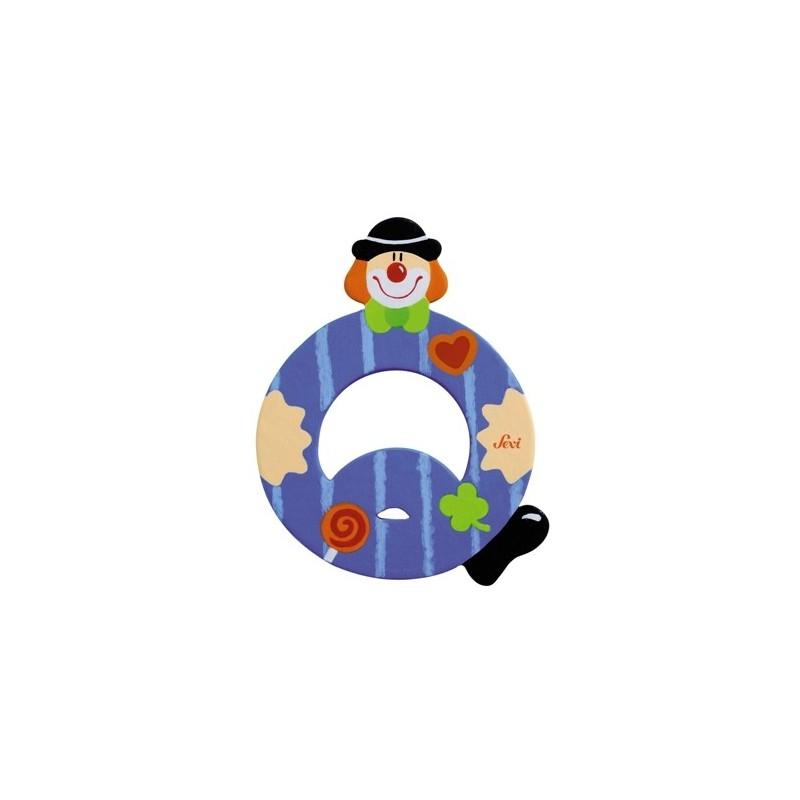 """Litera """"Q"""" z klaunem"""
