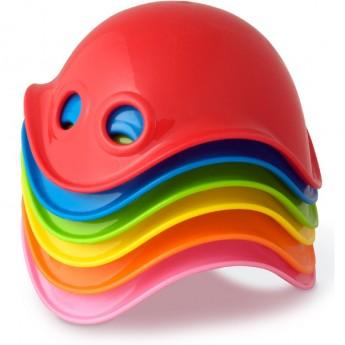 Bilibo Mini 6 muszelek zabawka kreatywna dla dzieci +12mc