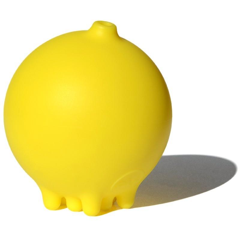 Deszczowa piłka Plui żółta zabawka do kąpieli +2