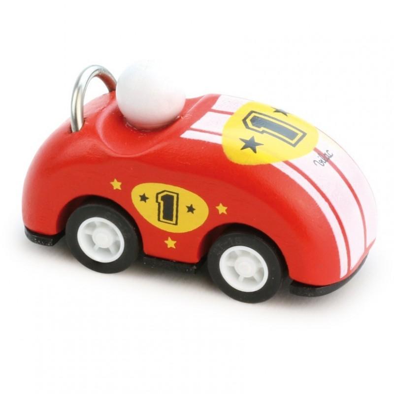 Samochodzik z napędem 8cm czerwony, Vilac